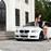 Фотография легкового автомобиля BMW E92 и его владелицы.